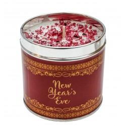 Svíčka vonná v nerezu 8x7,5cm Winter elegance - New Years Eve