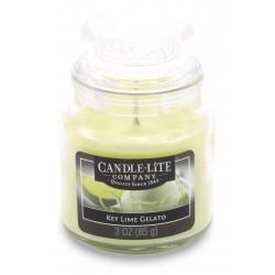 CANDLE-LITE Svíčka dekorativní ve skleněné dóze - Key Lime Gelato  85g