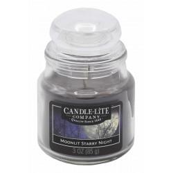 CANDLE-LITE Svíčka dekorativní ve skleněné dóze - Moonlit Starry Night  85g