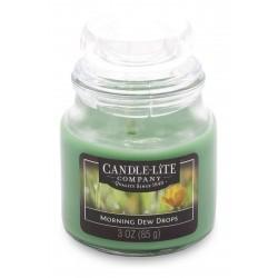 CANDLE-LITE Svíčka dekorativní ve skleněné dóze - Morning Dew Drops   85g