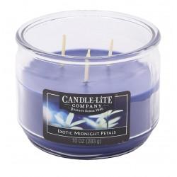 CANDLE-LITE Svíčka dekorativní ve skle - Exotic Midnight Petals  283g