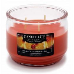 CANDLE-LITE Svíčka dekorativní ve skle - Sunlit Mandarin Berry  283g