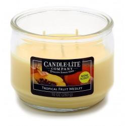 CANDLE-LITE Svíčka dekorativní ve skle - Tropical Fruit Medley  283g