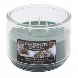 CANDLE-LITE Svíčka dekorativní ve skle - Frosted Blue Spruce  283g