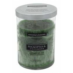 CANDLE-LITE Svíčka dekorativní ve skle - Eucalyptus & Cucumber   283g
