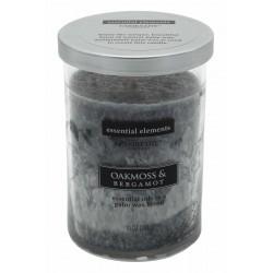 CANDLE-LITE Svíčka dekorativní ve skle - Oakmoss & Bergamot  283g