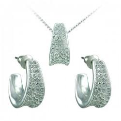 Sada Queen Crystal. Made with Swarovski crystals