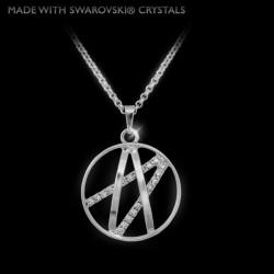Náhrdelník Atlas  Made with Swarovski crystals