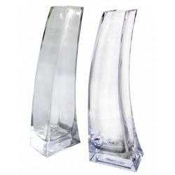 váza skleněná čirá 5,9 x 8,7 x 25 cm