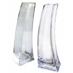 váza skleněná čirá 6 x 10x 30 cm