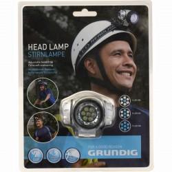 Svítilna čelovka 7 LED vodotěsná