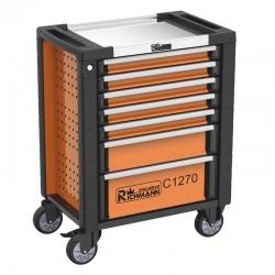Montážní vozík na nařadí 7 zásuvek