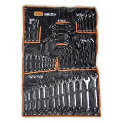 Sada klíčů 6-32 mm 47 dílů chrom-obal