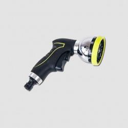 Rozstřikovač pistolový kovový 10-funkcí