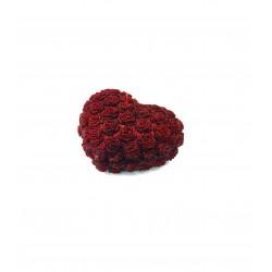 BARTEK CANDLES Svíčka dekorativní srdce malé sada 3ks