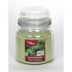 Candle-lite Svíčka vonná ve skleněné dóze s víkem 368,5g BH -  Fresh Eucaly