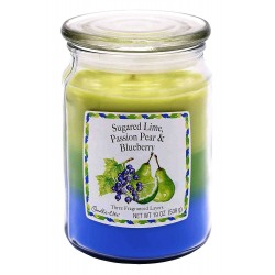 CANDLE-LITE Svíčka dekorativní ve skleněné dóze - Sugared Lime  538g