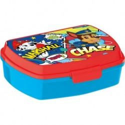 SVAČINOVÝ BOX PAW PATROL, 17,5X14,5X6,5 CM, PLAST