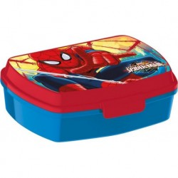 SVAČINOVÝ BOX  SPIDERMAN , 17,5X14,5X6,5CM, PLAST