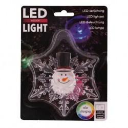 Světlo LED okenní, přísavné, assort