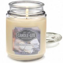 CANDLE-LITE Svíčka dekorativní ve skleněné dóze - Smoked Marshmallow 510g