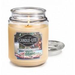 CANDLE-LITE Svíčka dekorativní ve skleněné dóze - Santa´s Cookies 510g