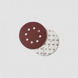 Výsek - suchý zip p125mm,zr. 100 1bal/6ks BOSCH