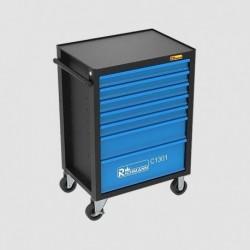 Montážní vozík s nářadím ,7 zásuvek, 135dílů