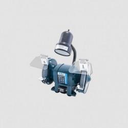 Bruska el. dvoukotoučová 125mm/150W + svítidlo 40W