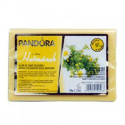 Olivové mýdlo 100% s vůní - HEŘMÁNEK 100g