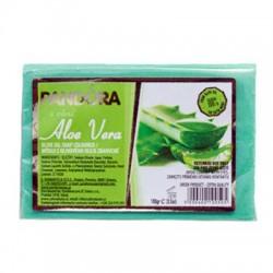 Olivové mýdlo 100% s vůní - ALOE VERA 100g