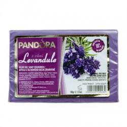 Olivové mýdlo 100% s vůní - LEVANDULE 100g