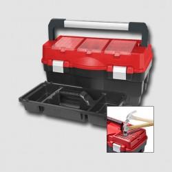 Box plastový s organizérem Formula S Alu 700 595x289x328mm