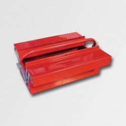 Kufr na nářadí kov 404x200x150mm 3 přihrádky TB125
