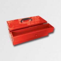Kufr na nářadí kov. 466x210x170mm 3 přihrádky TB121