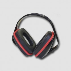 CORONA Červená sluchátka PC0008