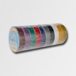 Páska izolačních PVC 19mmx10m barevná bal/10ks (cena za 1ks)