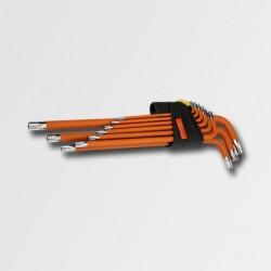 Sada TORX klíčů 9ks T10-T50 S2 CORONA EXCLUSIVE