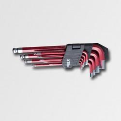 XTline Sada imbus s kuličkou CrV6150 9 dílů  XT081