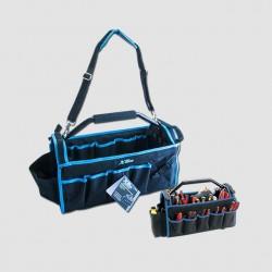 Taška na nářadí s kovovou rukojetí, 490x230x280mm