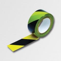Páska varovací 33M černá-žlutá samolepící